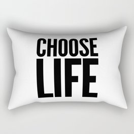 Choose Life Rectangular Pillow