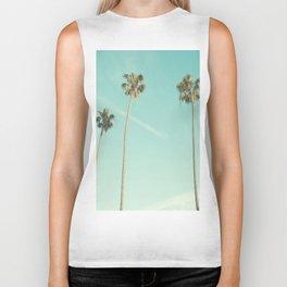 Palm Trees 2 Biker Tank
