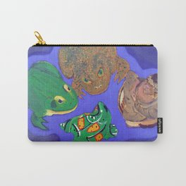4 Objects Carry-All Pouch