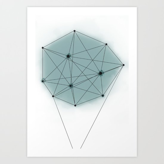 poly_ Art Print