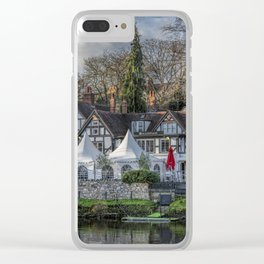 The Boathouse Pub Clear iPhone Case