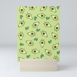 Happy Avocados Mini Art Print