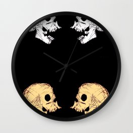 One on One on One on One on One on One on One Wall Clock