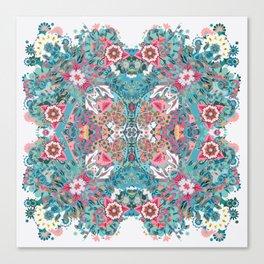 Blossoming Mandala Canvas Print