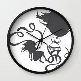 Jump/Fall Wall Clock