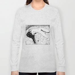 asc 657 - Le mystère de la Rue de Cluny (The housewife nightmare) Long Sleeve T-shirt