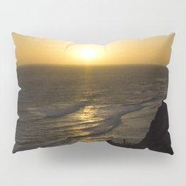 Cliff Top Sunset Pillow Sham