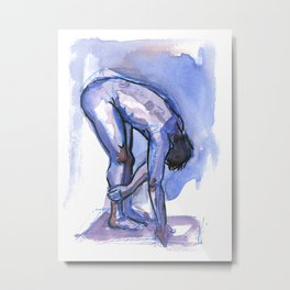 SETH, Nude Male by Frank-Joseph Metal Print