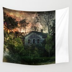 The Ghost House Wall Tapestry