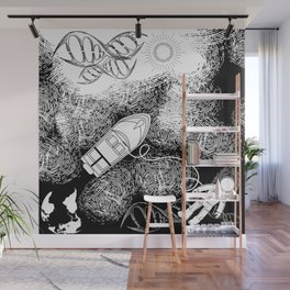 DNA Universe Wall Mural