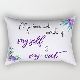 My Book Club Rectangular Pillow