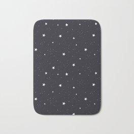 stars pattern Bath Mat