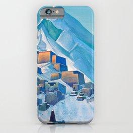 Nicholas Roerich - Tibet Himalayas - Digital Remastered Edition iPhone Case