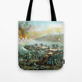 The Battle of Fredericksburg - Civil War Tote Bag