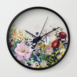 For The Beauty of the Earth Wall Clock