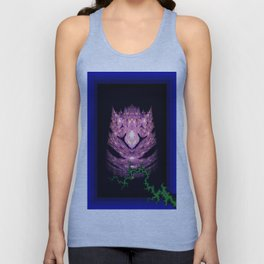 glowing owl Unisex Tank Top