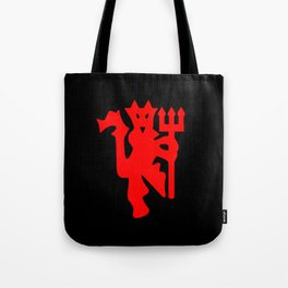 The Red Devil Tote Bag