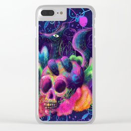 Dia de Muertos Clear iPhone Case