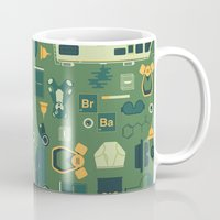breaking Mugs featuring Breaking Bad by Tracie Andrews