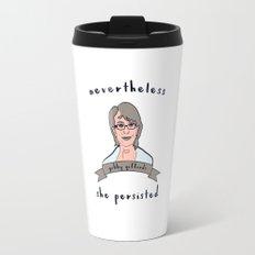 Nevertheless, Gabby Giffords Persisted Travel Mug