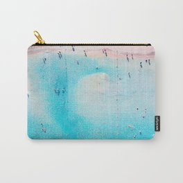 Bright Sandy Beach Carry-All Pouch