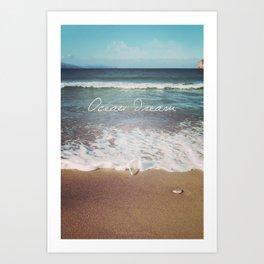 Ocean Dream V Art Print