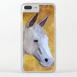 Hux Little Squeak Clear iPhone Case