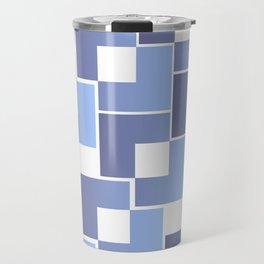 Blue Interlace Travel Mug