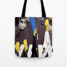 bea(tles)mpson Tote Bag