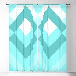 Diamond Turquoise Blackout Curtain