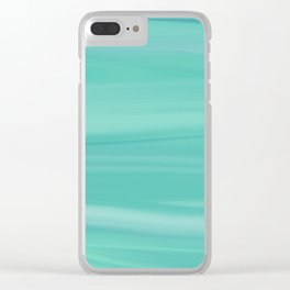 Blended B.9.b Digital Painting Clear iPhone Case