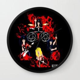 Shouting at the devil  Wall Clock