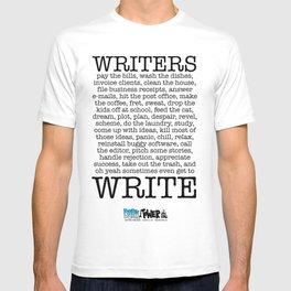 WRITERS WRITE! T-shirt