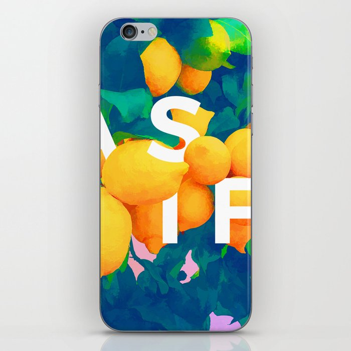 As If #society6 #decor #buyart iPhone Skin