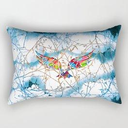 Storm Attack Rectangular Pillow