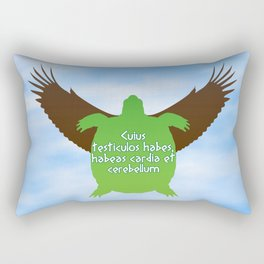 ...their hearts and minds will follow. Rectangular Pillow