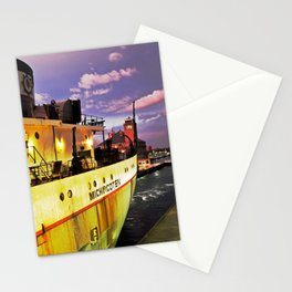 Sunset Freighter Stationery Cards