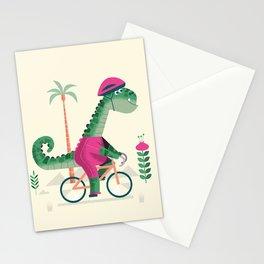 dino rider Stationery Cards