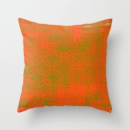 gold space? Throw Pillow