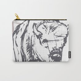 Bison - Abstract Carry-All Pouch