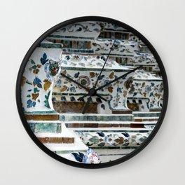 Wat Pho Up Close Wall Clock