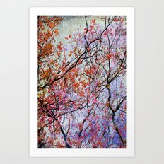 tree of thoughts Art Print