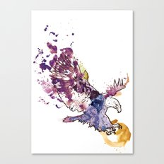 Eagle Swoop Canvas Print