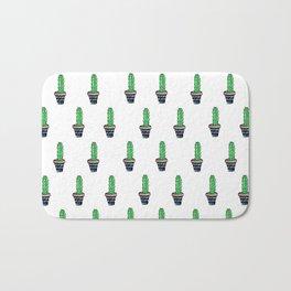 PATTERN II Geometric Cacti Bath Mat