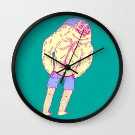 Muscle Butt Wall Clock