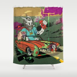 Arch Rival Shower Curtain
