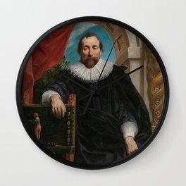 Renaissance Art | Portrait of Rogier le Witer Wall Clock