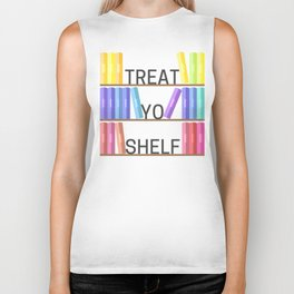 Treat Yo Shelf Biker Tank