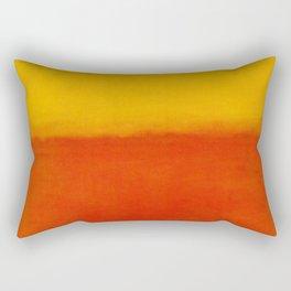 1956 Orange and Yellow by Mark Rothko HD Rectangular Pillow