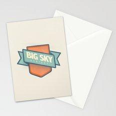 Big Sky, Montana Stationery Cards